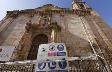 La iglesia de Algerri no prevé reabrir en al menos 3 meses
