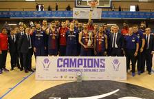 El Barça escombra l'Andorra per sumar la novena Lliga consecutiva