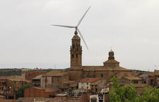 La Granadella, seis años sin TDT por los molinos de viento