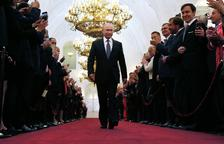 Putin, investit president de Rússia en gran per quarta vegada