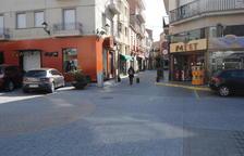 Campaña para incentivar las compras durante las obras en el centro urbano de Mollerussa