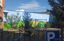 Nova plaça 1 d'octubre a Ribera d'Urgellet