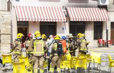 Rescatada una veïna de Verdú atrapada en un incendi