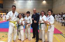 Cinc podis per al Karate Aran al torneig de Saragossa