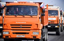 Putin inaugura el pont que uneix Crimea amb Rússia