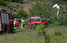 Investiguen sobre el terreny l'accident aeri de la Seu