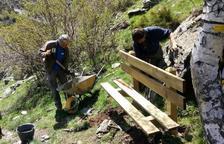 Mejoran el acceso a Cerbi y las pistas de Boet y Costuix