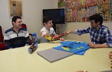 La Seu, rendida a l'esperit de superació d'un jove que va crear un braç amb Lego