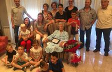 Soses homenatja Dolors Sisó Casals pel seu centenari