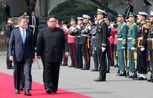 Las dos Coreas intentan relanzar la cumbre de Singapur con Trump