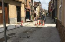 Mejoran la seguridad vial de las calles de Alcarràs