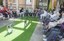 Semana olímpica para los setenta usuarios de la residencia de Bellpuig