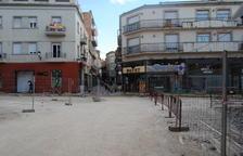 Cuarenta hogares de Mollerussa, sin luz por las obras del centro