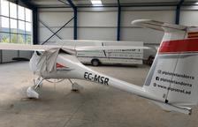 Una empresa construye un nuevo hangar en La Seu para vender planeadores y avionetas