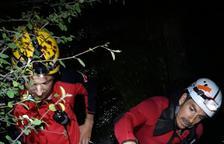 Rescatan de madrugada a 2 barranquistas en Escaló