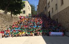 Creu Roja acull més de cent nens lleidatans a Olot