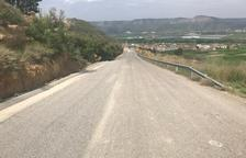 La Granja finaliza la ampliación del camino de Maials