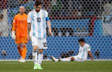 Messi, a prop de l'eliminació