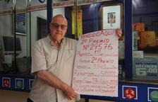El segundo premio de la Lotería deja medio millón de euros en Cappont