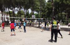 La campanya Voleibolitza't del Balàfia Vòlei arriba al col·legi Claver