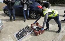 Macrojudici a 22 veïns de deu pobles de Lleida per tràfic de drogues i armes