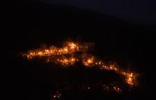 Foc purificador amb les falles al Pirineu