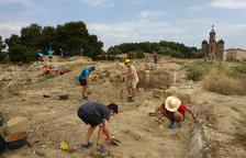 Taller de arqueología en el Castell Formós de Balaguer
