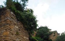 Àger finaliza la restauración de la muralla urbana, que será visitable
