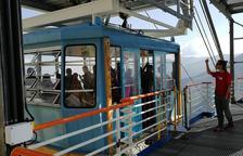360 turistas estrenan la temporada del teleférico