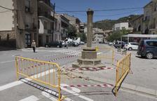 Investiguen les destrosses a la Creu de Sant Ramon de Torà