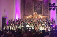 Juneda estrena un nuevo conjunto coral, con un centenar de 'cantaires'