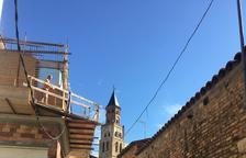 Fraga impulsa la restauración de las fachadas del centro histórico
