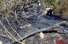 Un fuego calcina 4,2 hectáreas entre Balaguer y La Sentiu de Sió
