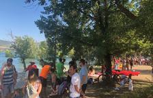 Èxit de participació en l'XI Festipallars a la platja del Piolet