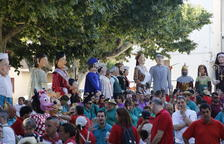 Más de 500 personas en la Trobada Gegantera de Bellvís