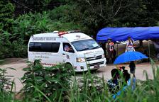 Finaliza con éxito el rescate de los 13 atrapados en la cueva tailandesa