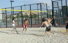 Abre la nueva pista de voley playa en Cervera