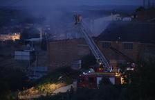 Incendi al magatzem d'un molí d'oli de les Borges