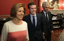 Cospedal sella su apoyo a Casado, con el que simpatiza Aznar