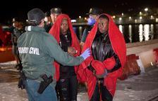 España supera ya a Italia en llegada de inmigrantes a sus costas este año