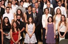 Un total de 27 alumnos de Lleida, con más de un 9 en la selectividad