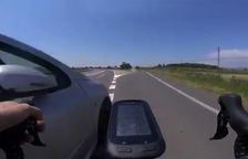 Retiran el carnet al anciano que casi atropella a un ciclista en Balaguer