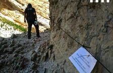 Reobren Mont-rebei per a la navegació i també els accessos a peu des d'Aragó i Àger