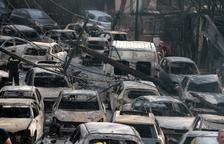 La xifra de morts en els incendis de Grècia ascendeix a 74 i la de ferits a 187