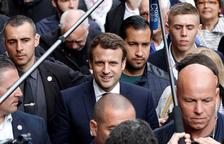 Macron, en hores baixes