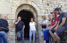 Primeras visitas guiadas a la iglesia de Sant Viçens de Capdella