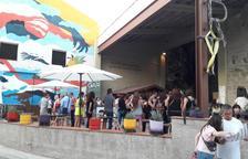 Maridaje atípico en Penelles con murales y productos locales