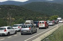 Colas de hasta diez kilómetros para acceder a Andorra en coche