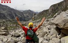 Rescaten quatre excursionistes a Espot i a la Vall de Boí
