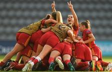 La selecció femenina sub-19 obté el segon Europeu consecutiu
